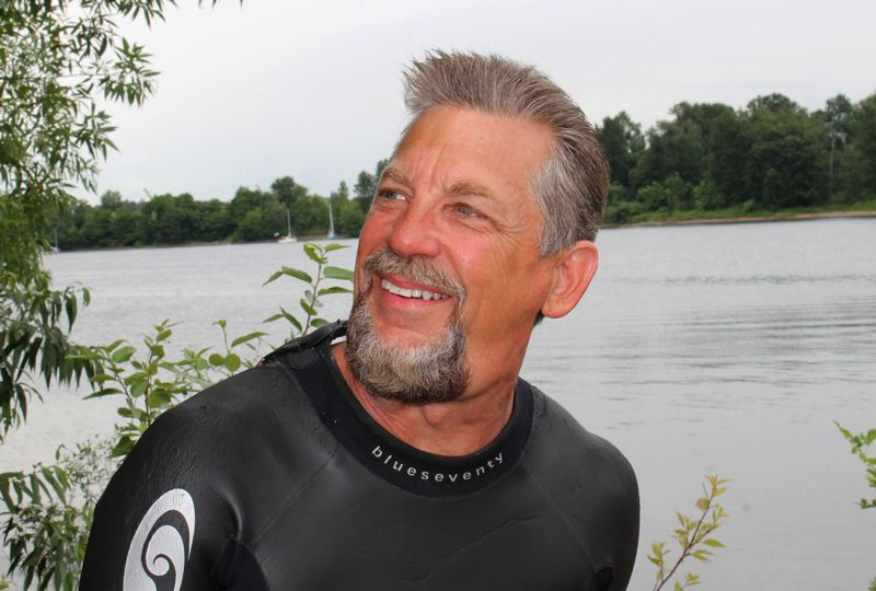 PMG FILE PHOTO - Dean Hall once swam the Willamette River, and now he's doing another river in California.