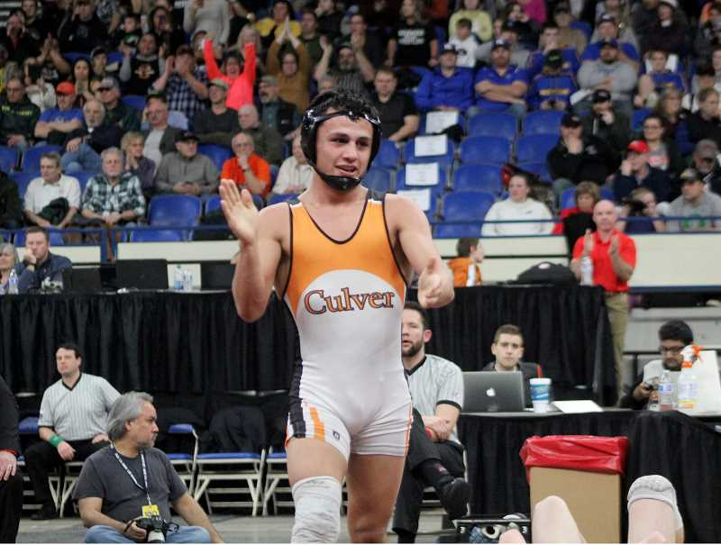 STEELE HAUGEN - Culver Bulldogs wrestler Lorenzo Vasquez has won 2A Wrestler of the Year. The standout wrestler was a four-time 2A state champion and a two-time Reser Tournament of Champion titlist.