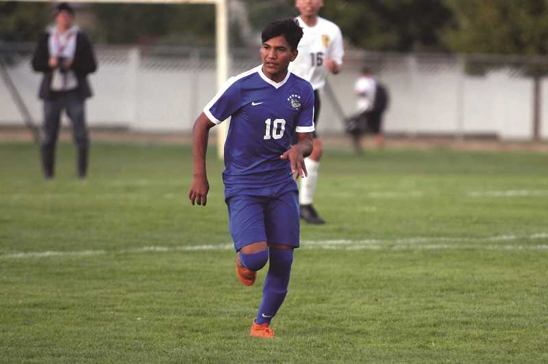 PMG PHOTO: PHIL HAWKINS - Jairo Aguirre will play at North Idaho College in the fall.