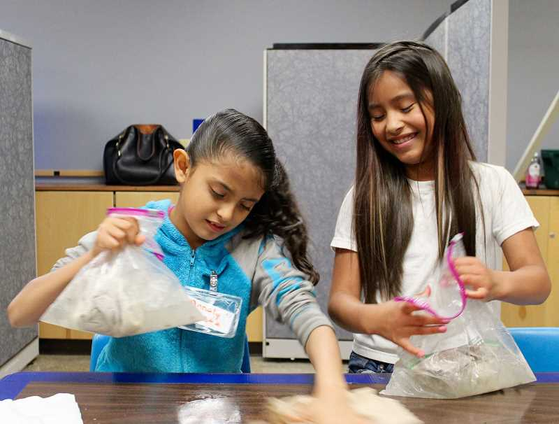 PMG PHOTO: OLIVIA SINGER - The local nonprofit was granted money to continue efforts supporting underprivileged youth, specifically through its after-school program for girls.