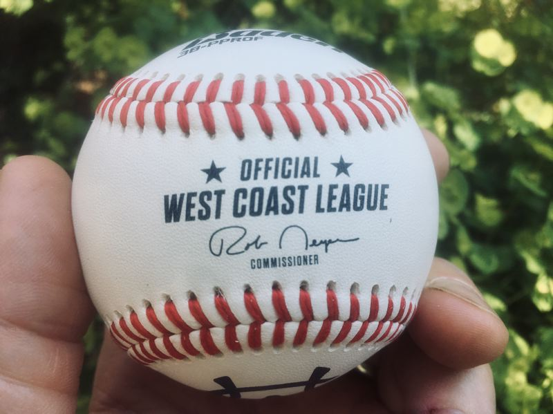 COURTESY PHOTO: WEST COAST LEAGUE - Rob Neyer's signature is on the baseballs used by the Portland Pickles and other West Coast League teams.