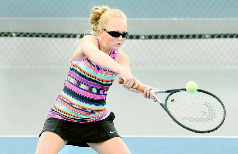 PMG FILE PHOTO - A variety of youth sports camps are available this summer through the Chehalem Park & Recreation District, including a series of youth tennis camps.