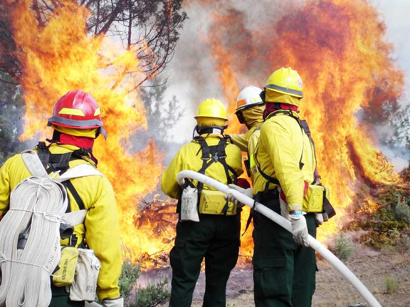 PMG FILE PHOTO - The official start to Oregon's fire season began June 1 as crews across the state prepare for the worst.