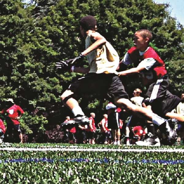 COURTESY PHOTO - The National Youth Football Combine will be held at Rex Putnam High School on June 22-23 for athletes in third through eighth grade