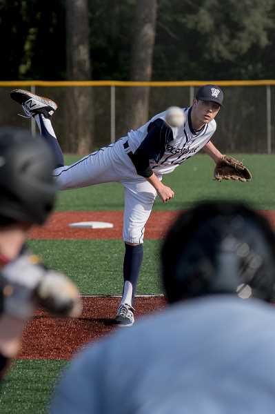 COURTESY PHOTO: GREG ARTMAN - Junior Keegan Shivers was named a second team all-league first baseman.
