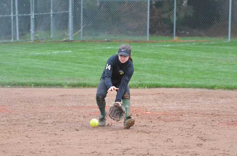 PMG FILE PHOTO: TANNER RUSS - Madison Olsen was one of Colton Softball's all-star players for last year, and she'll be back next year to help lead the team back to the playoffs.