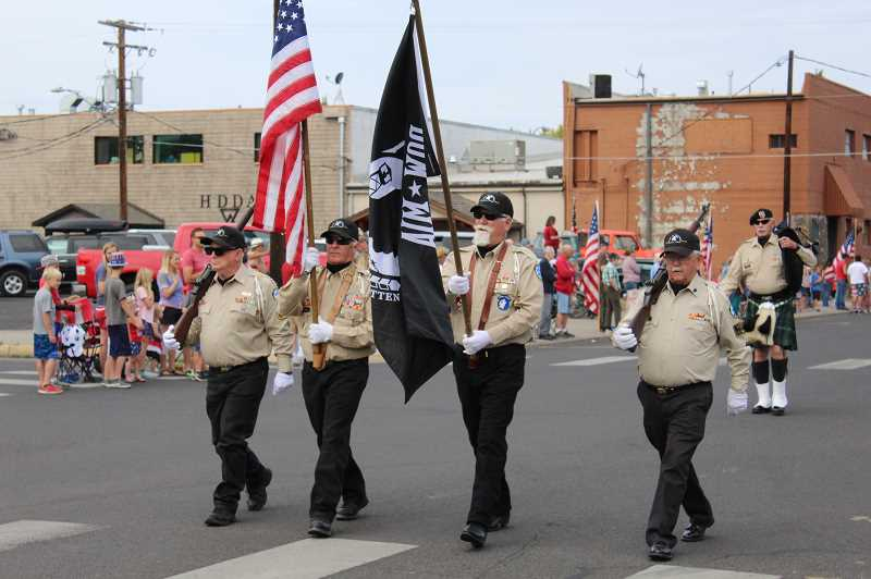 CENTRAL OREGONIAN FILE PHOTO - Prineville Band of Brothers members are organizing the Indpendence Day Parade and Ceremony.