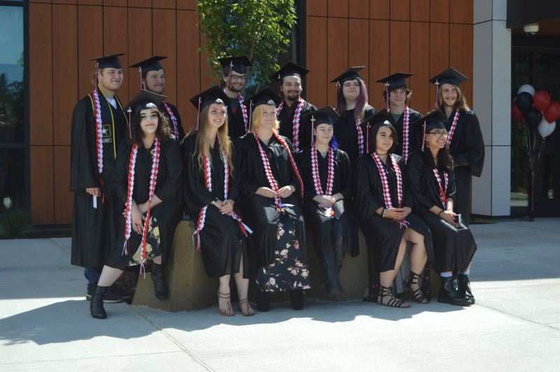 PMG PHOTO: NICOLE THILL-PACHECO - Students at Columbia County Education Campus celebrated graduation on Wednesday, June 12, at the brand new CCEC building with friends and family joining for the special occasion.