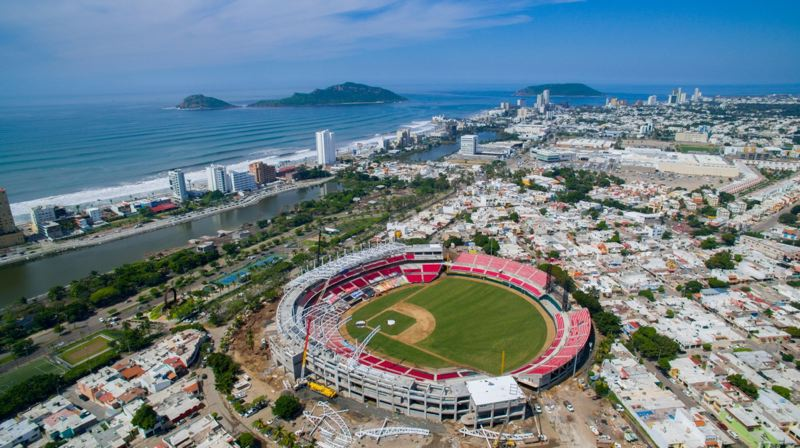 COURTESY PHOTO: MAZATLAN VENADOS - The home of Venados baseball in Mexico, a team that is partnering with the Portland Pickles and will be featured on Saturday at a West Coast League game against the Bend Elks.