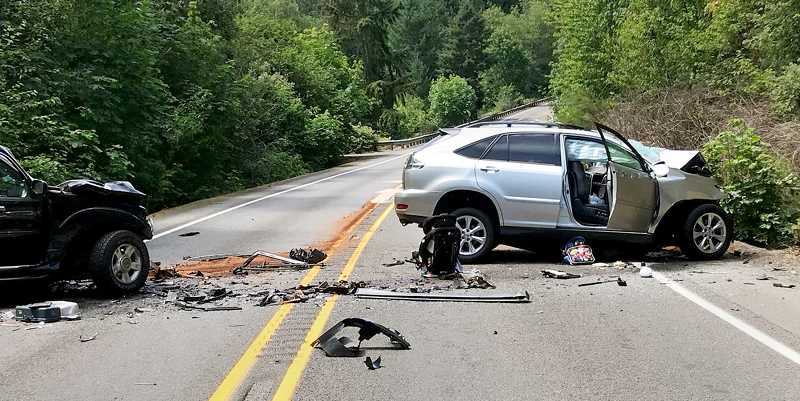PHOTO COURTESY OF MARION COUNTY SHERIFF'S OFFICE - A two-vehicle head-on collision on Sunday afternoon on McKay Road left two dead and sent a young child to the hospital with injuries.