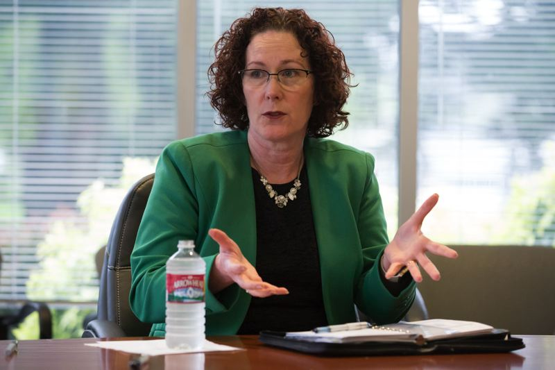PMG FILE PHOTO - New Labor Commissioner Val Hoyle says she hopes the court of appeals affirms her agency's decision in the Sweet Cakes by Melissa case.