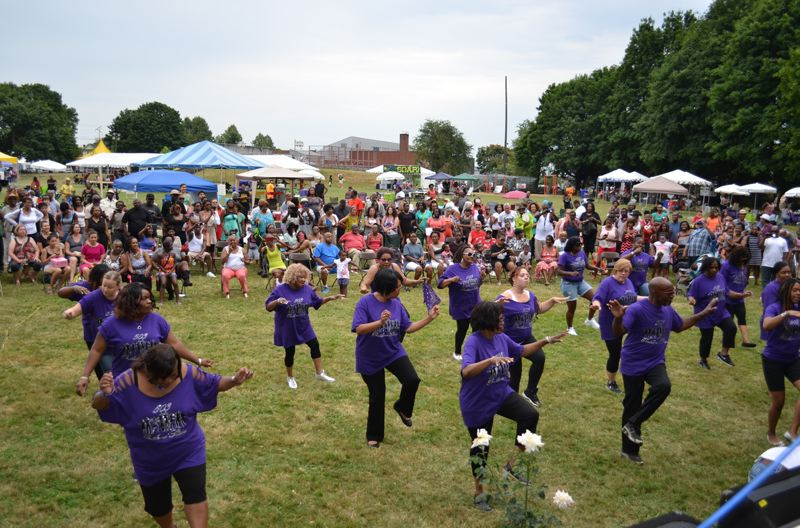 COURTESY PHOTO - A highlight of the Good in the Hood Festival is 503 Slider, a local stepper group that performs every year. The festival takes place Friday through Sunday, June 21-23.