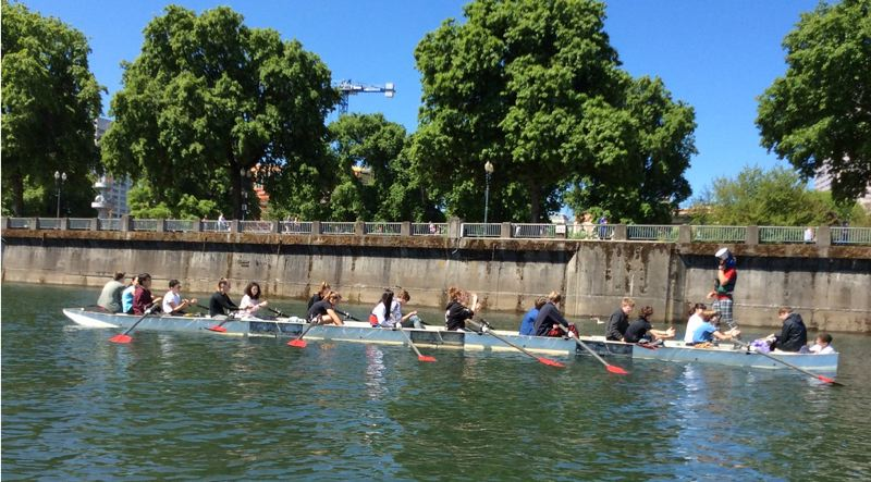 COURTESY PHOTO - The Rose City Rowing Club is offering classes for middle school students and others this summer.