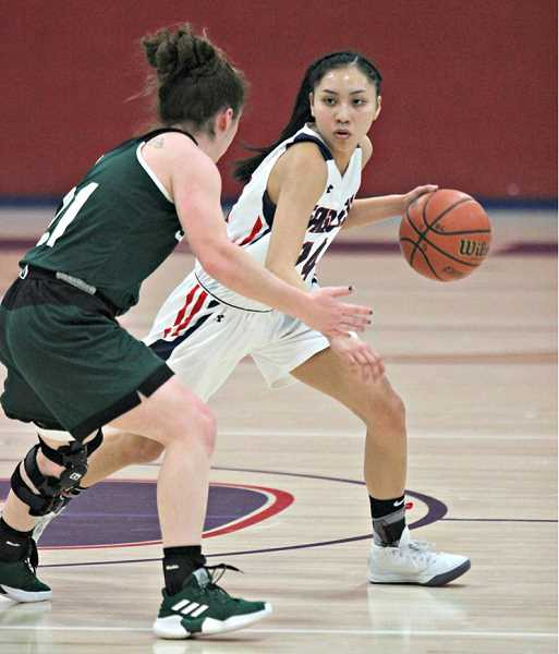JAYSON SMITH - Lynden Harry, a former Madras grad, led California community colleges with 217 total assists in 25 games played and a 2.1 assist to turnover ratio. These stats earned Harry the most valuable player award in her conference and all-state third-team honors as a freshman.