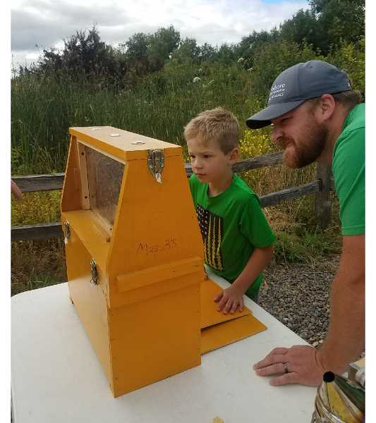 COURTESY PHOTO - From 11 a.m. to 3 p.m. Saturday, June 22, Hillsboro Parks and Recreation will host the second annual Pollinator Palooza at Jackson Bottom Wetlands.
