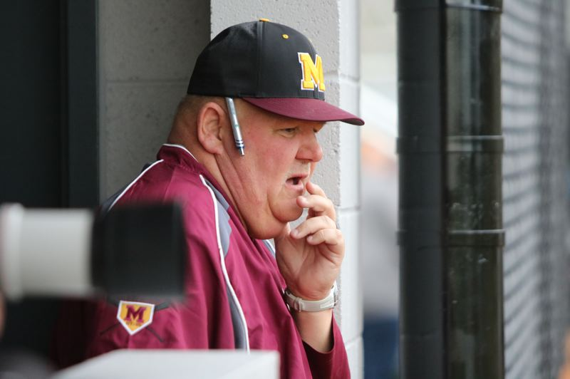PMG PHOTO: JIM BESEDA - Bud Taylor said 'it was time for a change' after he decided to step down as baseball coach at Milwaukie High School, ending a three-year run that saw the Mustangs go 18-55 overall.