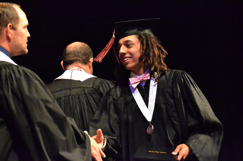 PMG PHOTO: BRITTANY ALLEN - Sandy High School graduated 340 students on June 14.