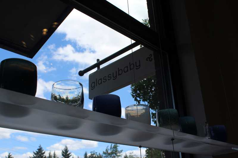 PMG PHOTO: AVA EUCKER - glassybaby is located in downtown Lake Oswego on State Street.