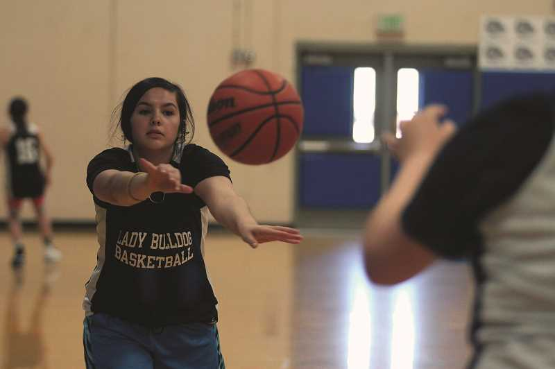 PMG PHOTO: PHIL HAWKINS - Incoming Woodburn junior Tatyana Kalugin is one of a number of reserve players looking to earn more playing time in the coming season.