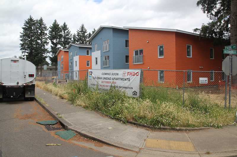 PMG PHOTO: JUSTIN MUCH - Woodburn has seen an uptick in multi-family housing development in recent years.