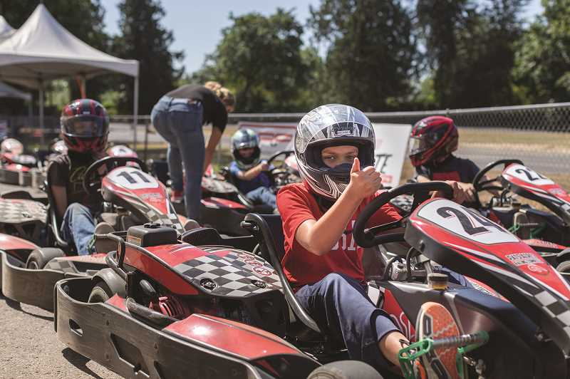COURTESY PHOTO  - World of Speed offers several summer camps for youth, including a racing camp.