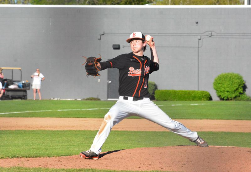 TIMES FILE PHOT - Beaverton senior pitcher Kellen OConnor will be on the mound this weekend in the Oregon All-Star series.