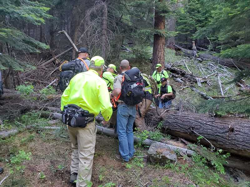 PHOTO COURTESY OF WHEELER COUNTY SHERIFF'S OFFICE - The body of a missing 83-year-old Portland man was found nearly two miles from his camp Tuesday afternoon.