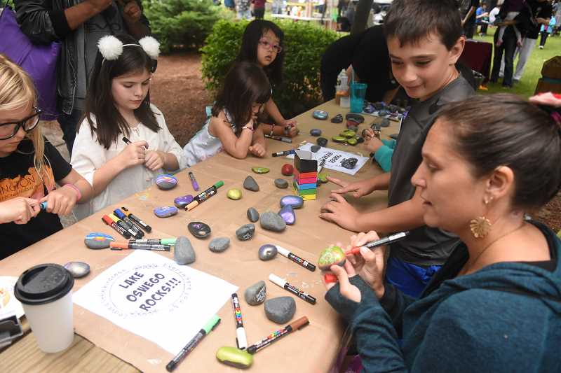 COURTESY PHOTO  - Friday. June 21 is dedicated to Kids Get Creative at the Lake Oswego Festival of the Arts. Enjoy all sorts of art exploration at George Rogers Park all day long.
