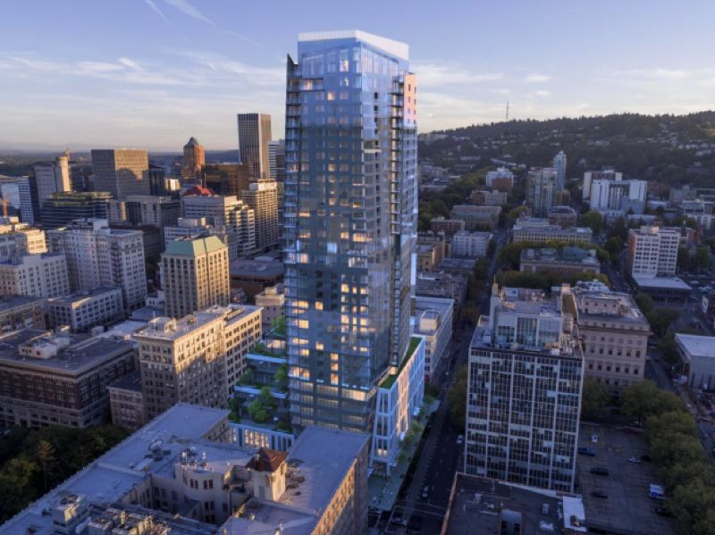 COURTESY: GBD ARCHITECTS - Block 216 is getting a Ritz-Carlton in 2023.