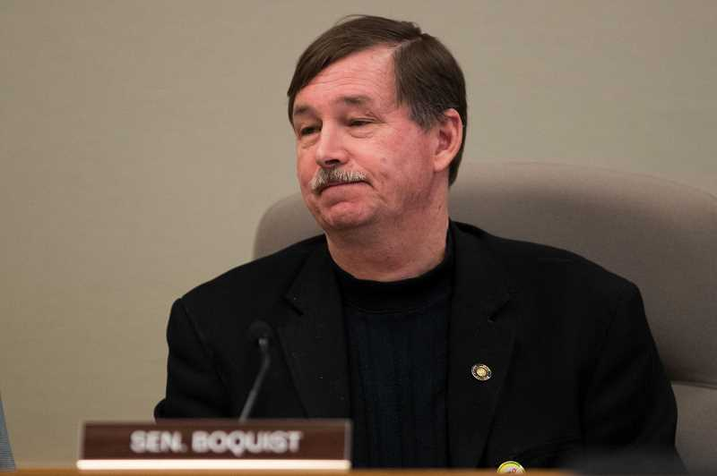 PMG FILE PHOTO - Brian Boquist told reporters that state troopers sent to bring him back to Salem should be 'bachelors and heavily armed.' Boquist and other Senate Republicans have been on the lam from Salem since Wednesday night.