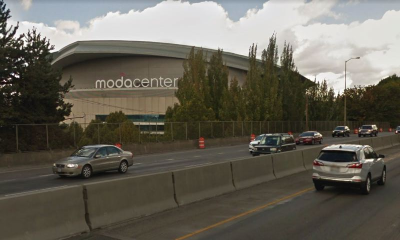 VIA GOOGLE MAPS - The Moda Center is seen here from Interstate 5 in Portland's Rose Quarter.