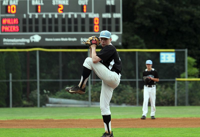 PMG PHOTO: MILES VANCE - Lakeridge pitcher John Taylor and the Pacers kick off the 25th annual Firecracker Classic against West Linn at 6:30 p.m. Thursday, June 27, at Lakeridge High School.