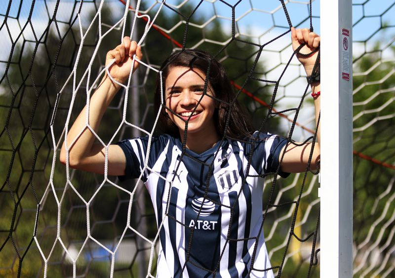 PMG PHOTO: DAN BROOD - Daniela Solis, a 2011 Sherwood High School graduate, is now playing professional women's soccer in Mexico, where she is one of the league's top players.