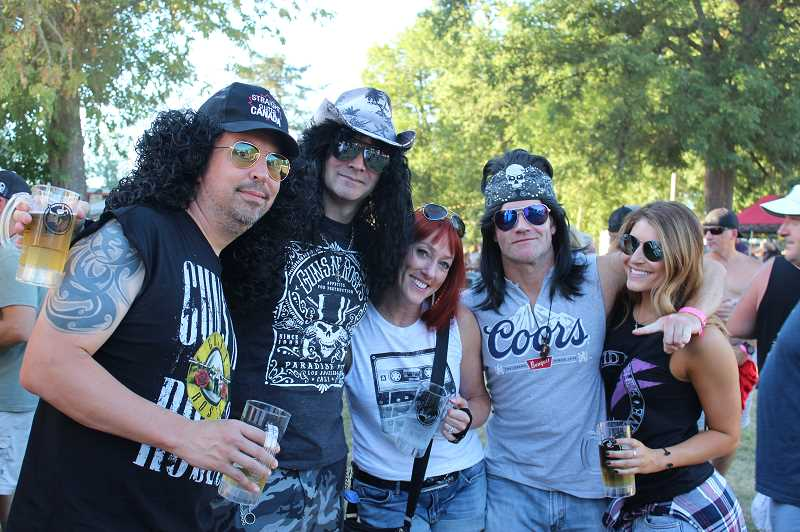 PMG FILE PHOTO: KRISTEN WOHLERS - Attendees of Harefest 8 in 2018 enjoy a good time.