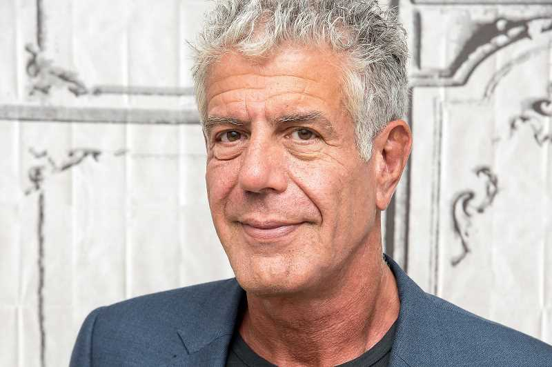 COURTESY PHOTO - To celebrate the late Chef Anthony Bourdain, the 'Parts Unknown' host, on his birthday people are encouraged to share memories of him using the hashtag #BourdainDay on June 25.