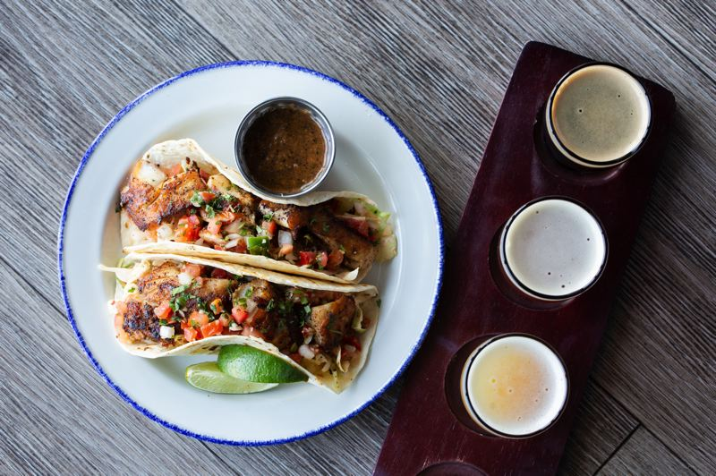 COURTESY: ALAN WEINER PHOTOS - Fish tacos at Line & Lure are a delicious option at ilani.
