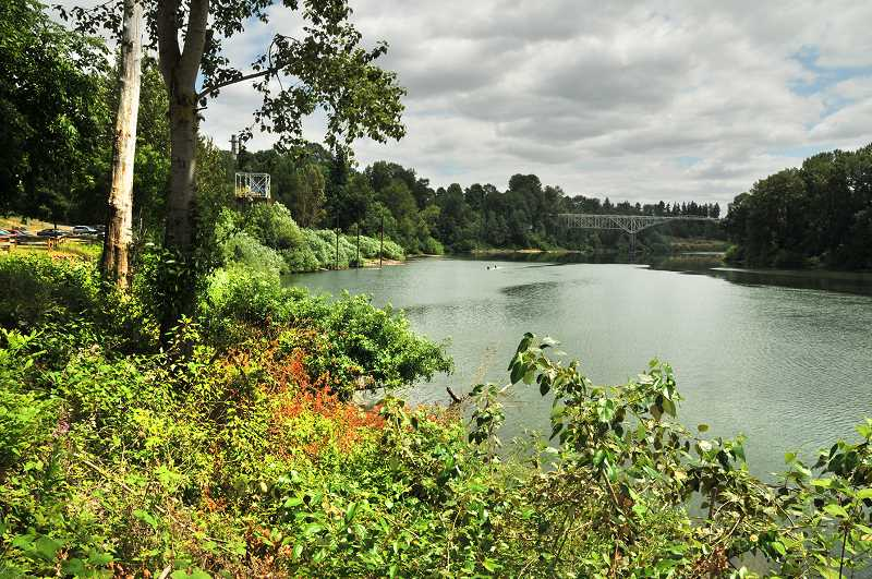 GRAPHIC PHOTO: GARY ALLEN - It is hoped that plans for the riverfront in Newberg will incorporate land now owned by WestRock, which includes parts of Rogers Landing.