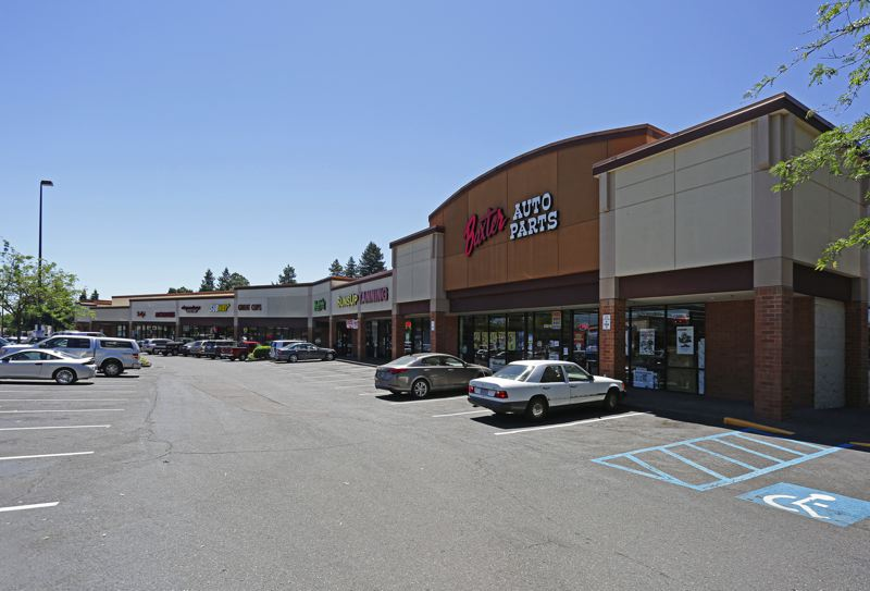 COURTESY PHOTO - Major tenants of Oak Grove Market include Five Guys, Baxter Auto Supply, Bank of America, Panda Express, Credit Concepts and Gentle Dental.
