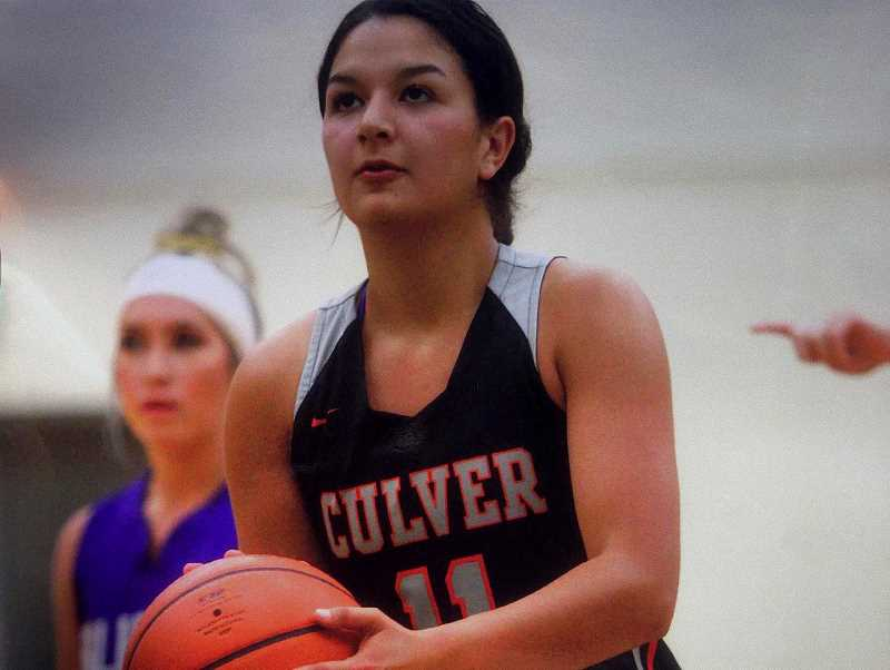 SUBMITTED PHOTO - Recent Culver High School grad and basketball player Irma Retano played in the Oregon Athletic Coaches Association all-star game June 15-16, in Salem.