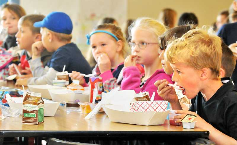 GRAPHIC PHOTO: GARY ALLEN - Kids can chow down at the summer meals program at Edwards Elementary, which is open to all children age 1-18.