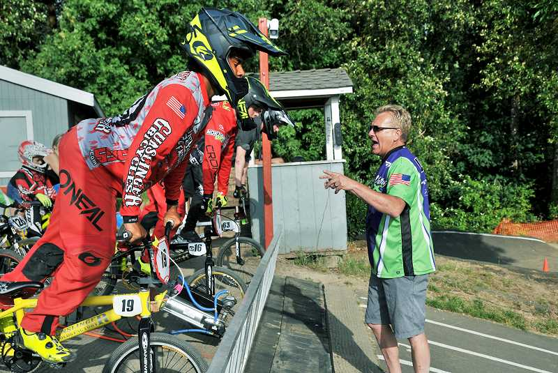 GARY ALLEN - A team of volunteer coaches helps guide newcomers and experienced riders alike.