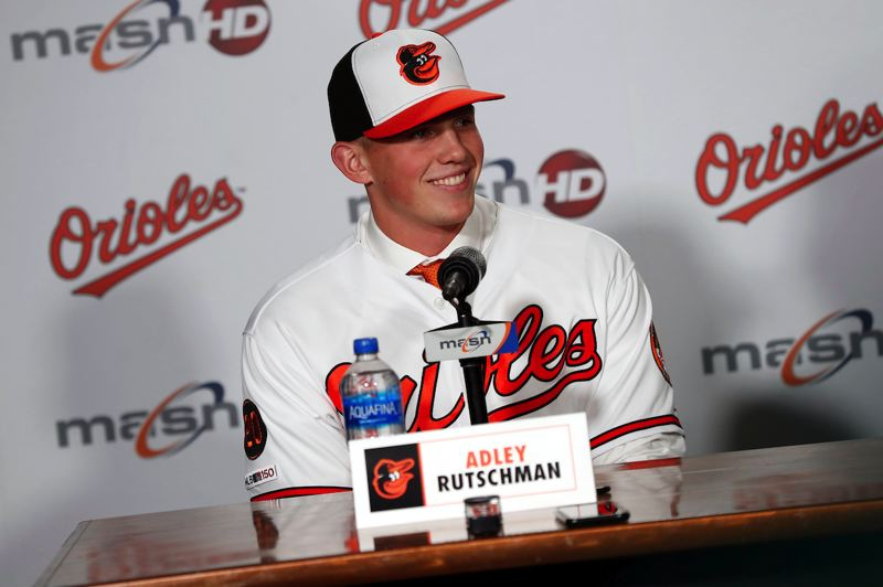 COURTESY PHOTO: TODD OLSZEWSKI/BALTIMORE ORIOLES - ADLEY RUTSCHMAN