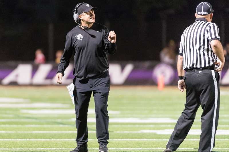 PMG PHOTO: CHRISTOPHER OERTELL - Century's Sean McMenomy was dismissed as head football coach after two seasons.