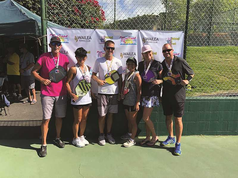 COURTESY PHOTO: PICKLEBALL IS GREAT - The 2019 Summer Sizzle is the fourth year of the ever-growing pickleball tournament, which is moving from Wilsonville to North Marion High School this year.