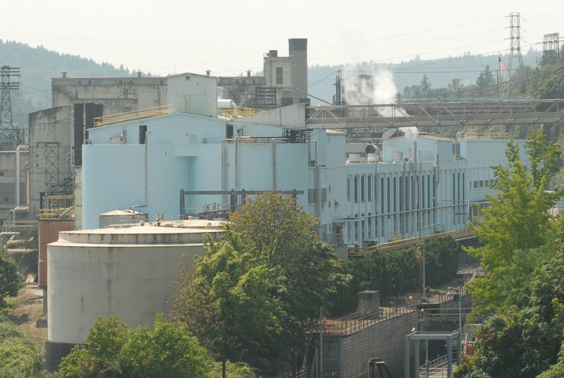 PMG FILE PHOTO - Willamette Falls Paper Co. plans to begin production at the West Linn Paper Co. mill, which shut down operations nearly two years ago.