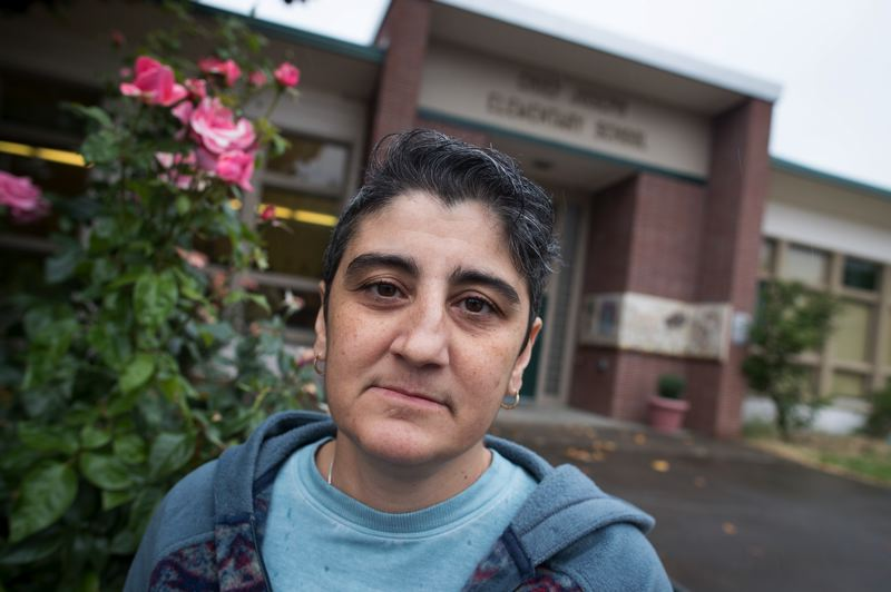 PMG PHOTO: JAIME VALDEZ - Rose Michels, a teacher at Chief Joseph Elementary School, has for nearly two years raised concerns over indoor air quality at her school.