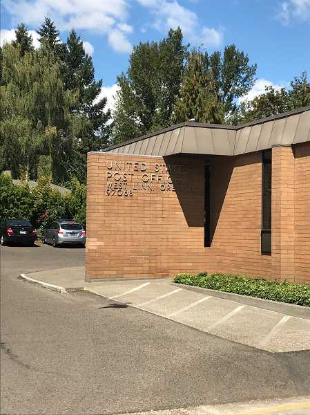 PMG FILE PHOTO - The West Linn Post Office will remain at its current location through December.