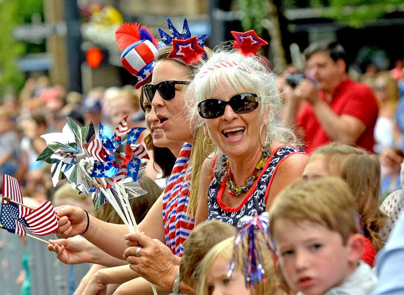 PMG FILE PHOTO  - The Star Spangled Parade has become a staple of Fourth of July festivities in Lake Oswego.