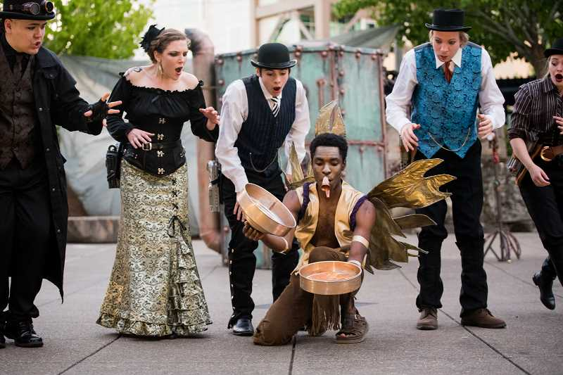 "COURTESY PHOTO - Experience Theatre Project presents ""The Westside Shakespeare Festival"" from 4 to 9 p.m. Friday, June 28; noon-9 p.m. Saturday, June 29,  and noon-4 p.m. Sunday, June 30, on the Beaverton Library lawn."