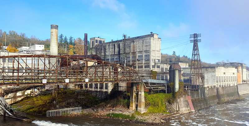 PHOTO: AMANI DUNCAN - The mill formerly ran by West Linn Paper company will reopen under Willamette Falls Paper Company this summer.